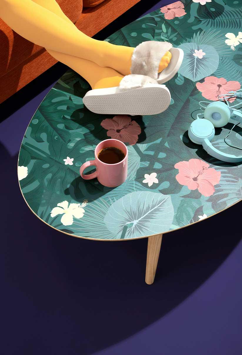 Modern room table
