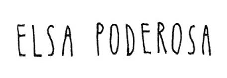 Elsa Poderosa Logo